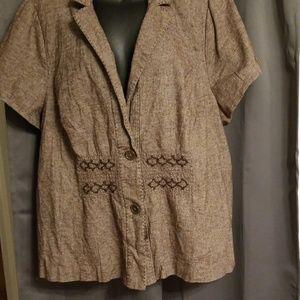 Lane Bryant women's cropped jacket size  26/28